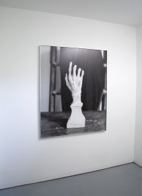 Plaster Cast of Dissected Hand, instalace
